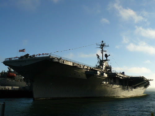 The U.S.S. Hornet (CV-12), commissioned 1943
