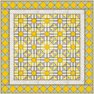 Bright & Sunny Yellow Quilt