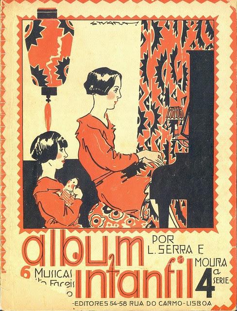 Stuart Carvalhais, Album Infantil, 1928 - cover