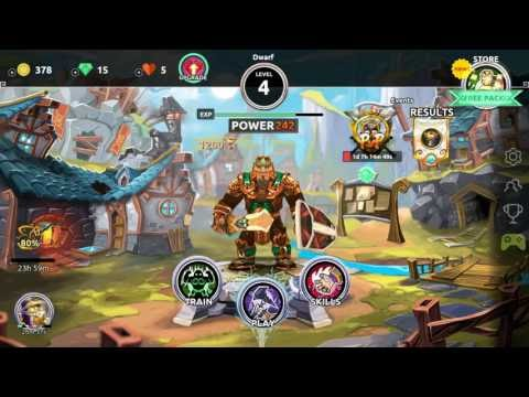 Dungeon Legends RPG MMO Gameplay