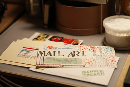 well of course -- mail art!