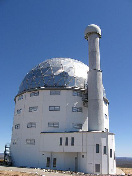 SALT Observatory in daytime