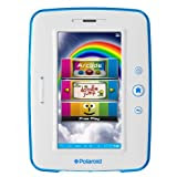 Polaroid 7-inch Android 4.0 8GB Internet Kids Tablet, Has Built-in Parental Controls, and Preloaded w/over 35 Premium Apps, Game Arcade, Top-Rated Children's Books Dr. Seuss and Smithsonian Interactive Books, Camera & Music Player Specially Designed for Kids, Rechargeable Battery, White and Blue