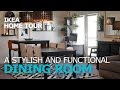 simple dining room designs for small spaces
