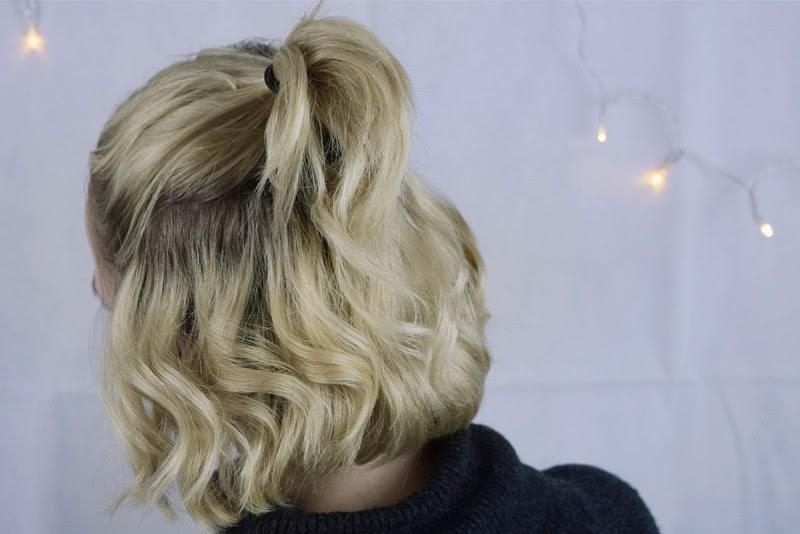 Kinnlange Haare Festliche Frisur Für Weihnachten Swanted