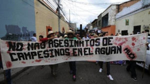 Los crímenes en el Bajo Aguán han rebasado los limites de la tolerancia, según defensores de los derechos humanos.