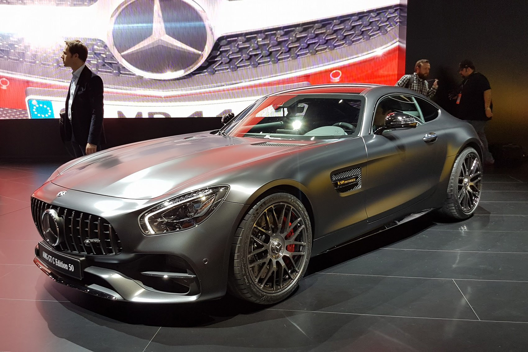 Mercedes-Benz AMG GT 2017 - now Coupe :: OUTSTANDING CARS