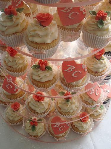 Cupcake Tiered Wedding Cake A Sweet Alternative