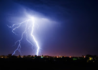 Photo: Lightning strike