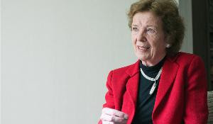 Mary Robinson, enviada especial para el cambio climático de Naciones Unidas y ex Presidenta de Irlanda.