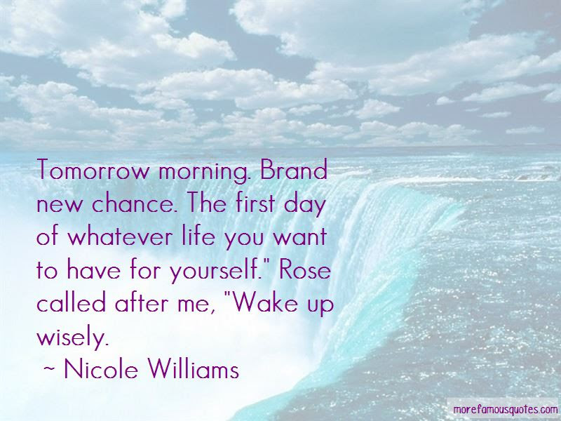 Tomorrow Brand New Day Quotes Top 2 Quotes About Tomorrow Brand New