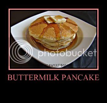 Traditional Buttermilk Pancake