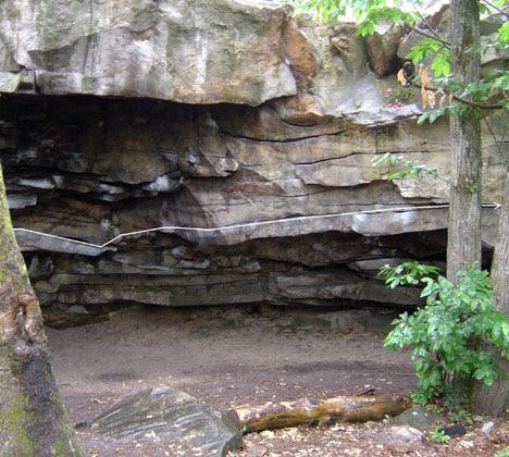 le toit et sa grotte