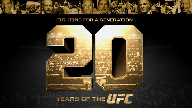 Fighting for a Generation: 20 Years of UFC | filmes-netflix.blogspot.com.br