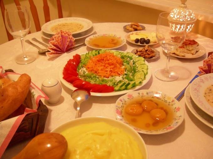 İftar #1 - Dövme Çorbası, Patates Püresi, Mantarlı Pirzola