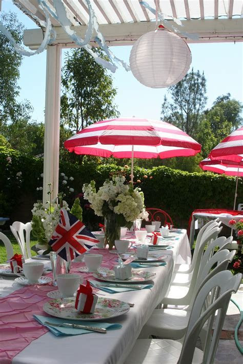 Party Wishes: Royal Wedding Tea Party