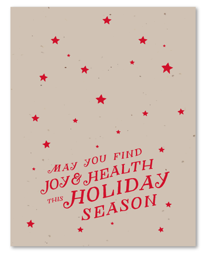 Hip Wishes Holiday Card