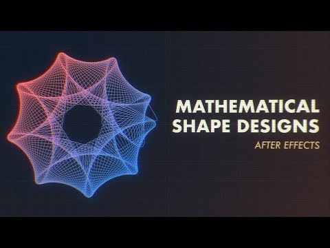 Cara Membuat Efek Animasi Spirograph di After Effects