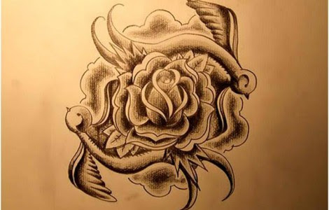 Rose With Thorns Tattoos Tattoos Designs Ideas