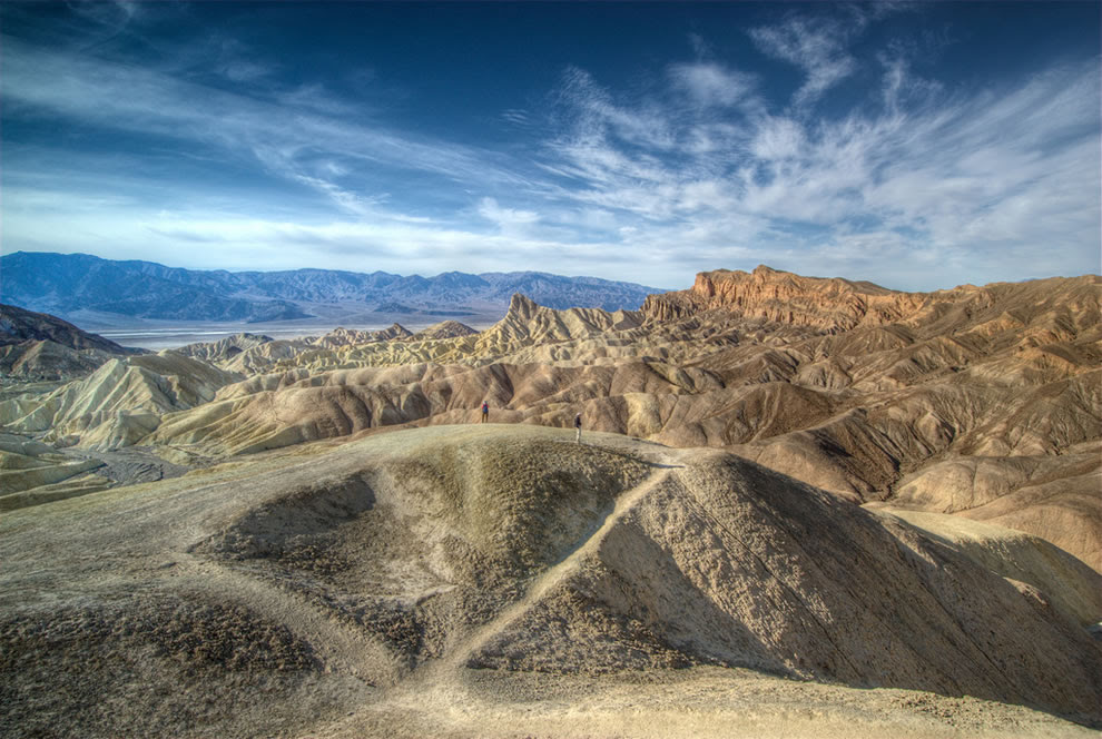 Road trippers at Death Valley