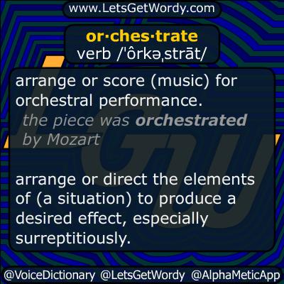 orchestrate 12/13/2014 GFX Definition