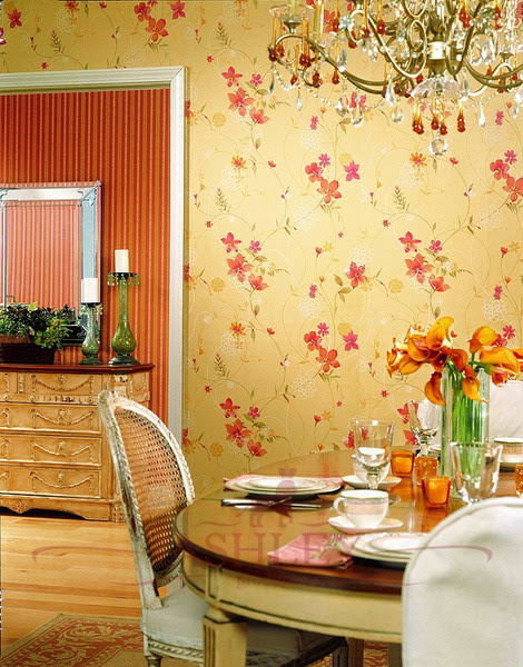 35 Ideas Of Using Creative Wallpapers On A Kitchen | Shelterness