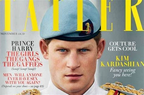 Prince Harry Makes His Tatler Debut As 'Man Of The Year