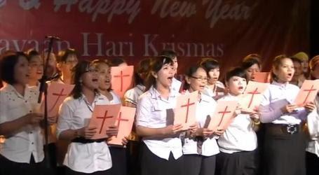 Acara sambutan rasmi Krismas negeri Selangor 2012 yang dihadiri Khalid Ibrahim