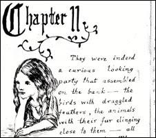 Lewis Carroll's handwriting