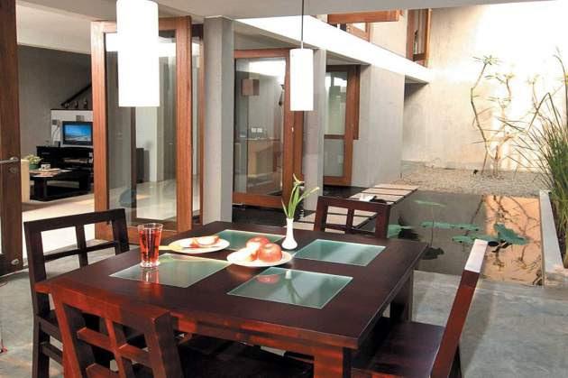 Desain Dapur Dan Ruang Makan Terbuka 2 Desain Rumah Minimalis