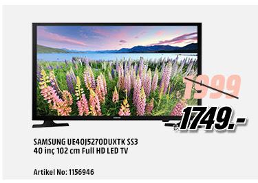 SAMSUNG UE40J5270DUXTK SS3 40 inç 102 cm Full HD LED TV 1749TL