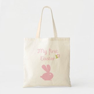 My First Easter {egg hunt} Bags