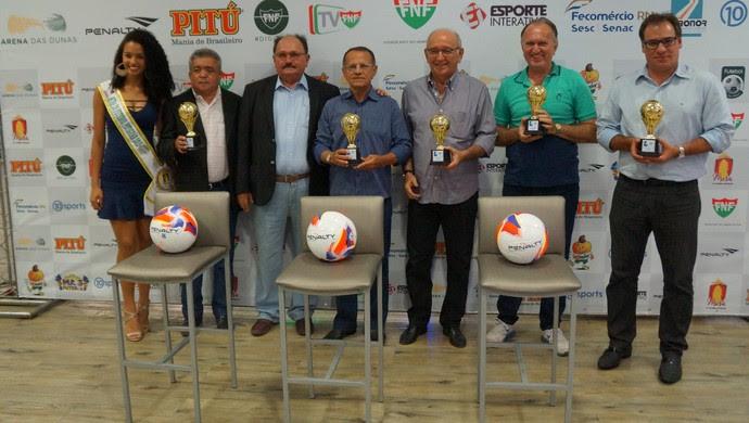 RN - FNF Lançamento Plano Comercial Campeonato Potiguar 2016 (Foto: Jocaff Souza/GloboEsporte.com)