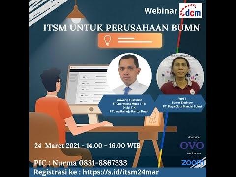 Jurus Kunci Implementasi ITSM di BUMN