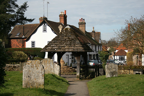 Shere: a lovely tranquil village on the picturesque Tillingbourne