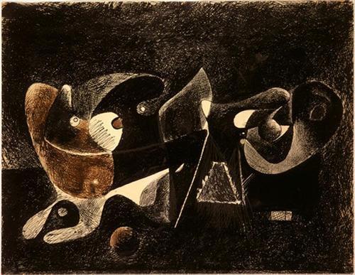Nocturno, Enigma y Nostalgia - Arshile Gorky
