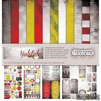 Набор двусторонней скрапбумаги от 7 Dots Studio - Yuletide - Collection Kit, 12 шт - ScrapUA.com