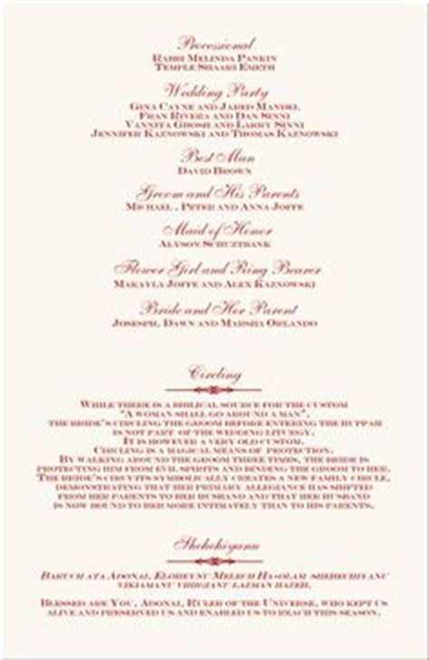 1000  images about printable wedding programs on Pinterest