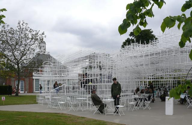 Serpentine Pavilion, 2013 by Sou Fujimoto