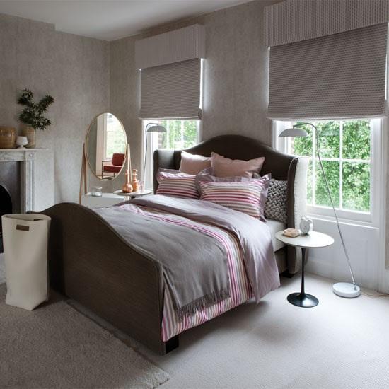 Rich textured bedroom