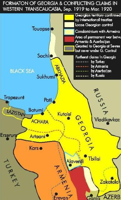 საქართველოს რუქა