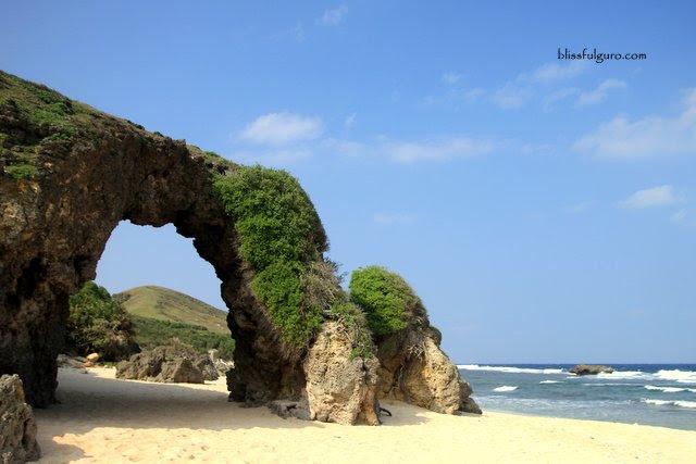 Mahayaw Arch Morong Beach Sabtang Island Batanes