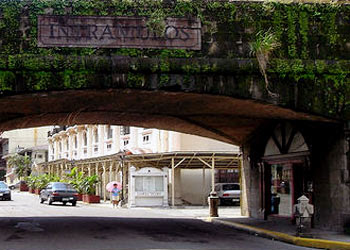 The medieval walls of Intramuros