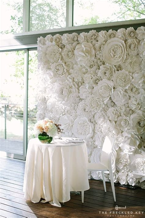 Best 25  Flower wall wedding ideas on Pinterest   Flower