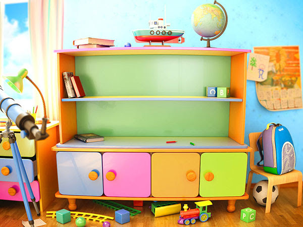 25 Excellent Kids Playroom Ideas - SloDive