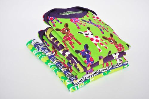 5 t-shirts