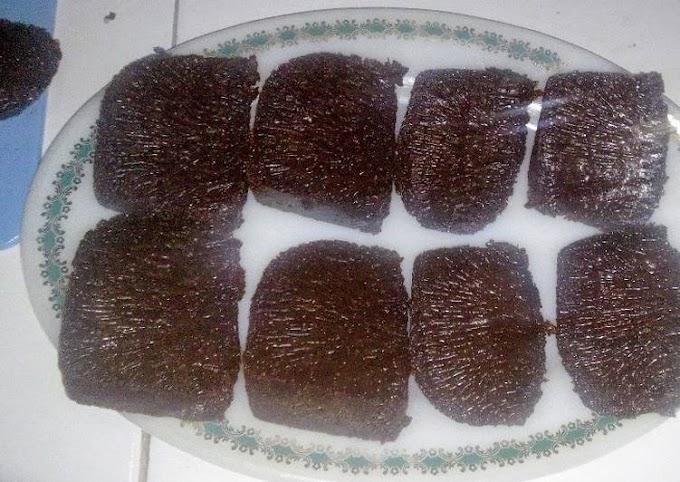 Resep Unggulan: Caramel Cake / Sarang Semut Simpel No Mixer Dgn Baking Pan Enak Banget