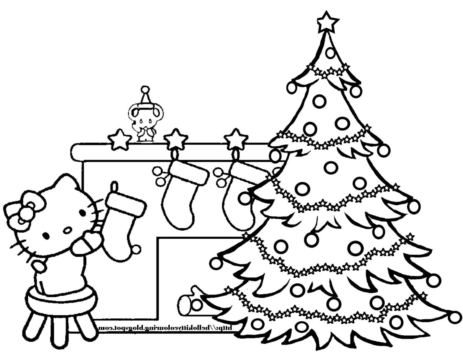 Christmas Trees Drawing at GetDrawings | Free download