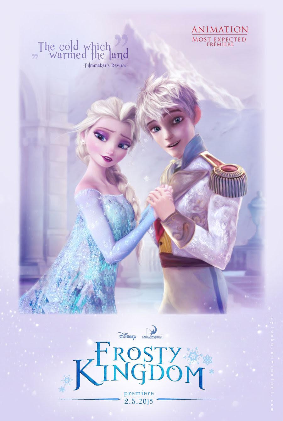Gambar Frozen Elsa Dan Jack