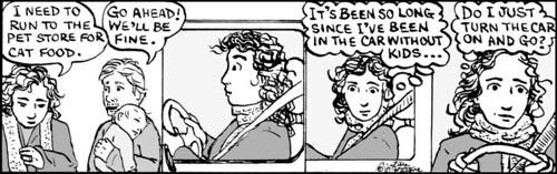 Home Spun comic strip #310